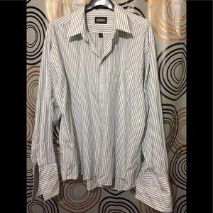 Kasper Dress Shirt Sz  (17.5) 34/35